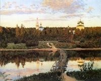 """Levitan's """"Quiet Abode"""" (1890)"""