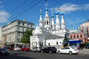 Church of the Natiity of the Virgin in Putinki
