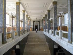 Lenin Library Staircase