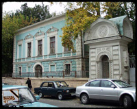 Levitan's studio in Moscow adjacent to the home of his patron Sergei Morozov. He lived and worked here for 11 years.