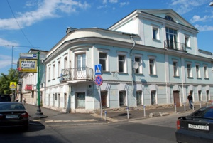 Malaya Dmitrovka Ulitsa No. 12. Chekhov lived in Apartment 10.