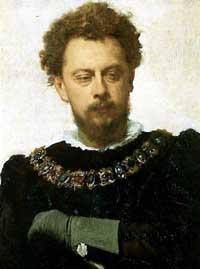 "Ivan Kramskoy's portrait of Alexander Lensky as Petruchio in ""The Taming of the Shrew"" (1883). Tretyakov Gallery, Moscow."